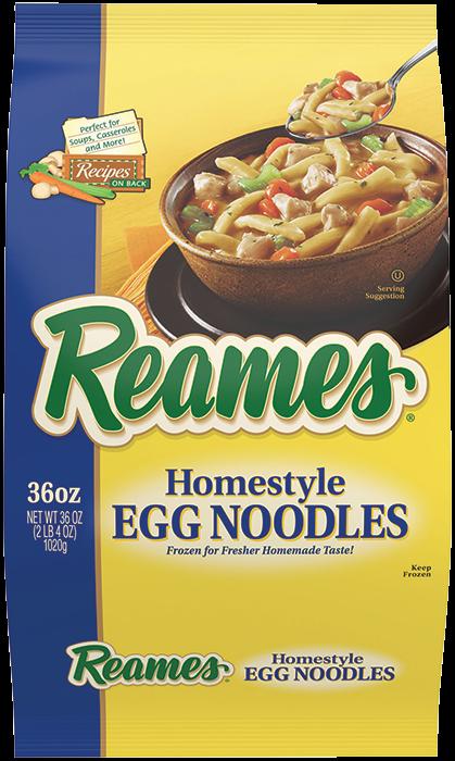 00041308010483 CF  EPS 5 - Reames®  Frozen Egg Noodles 36 oz.