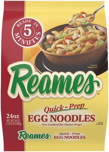 00041308010490 CF  EPS 5 - Reames®  24 oz Quick Prep Egg Noodles