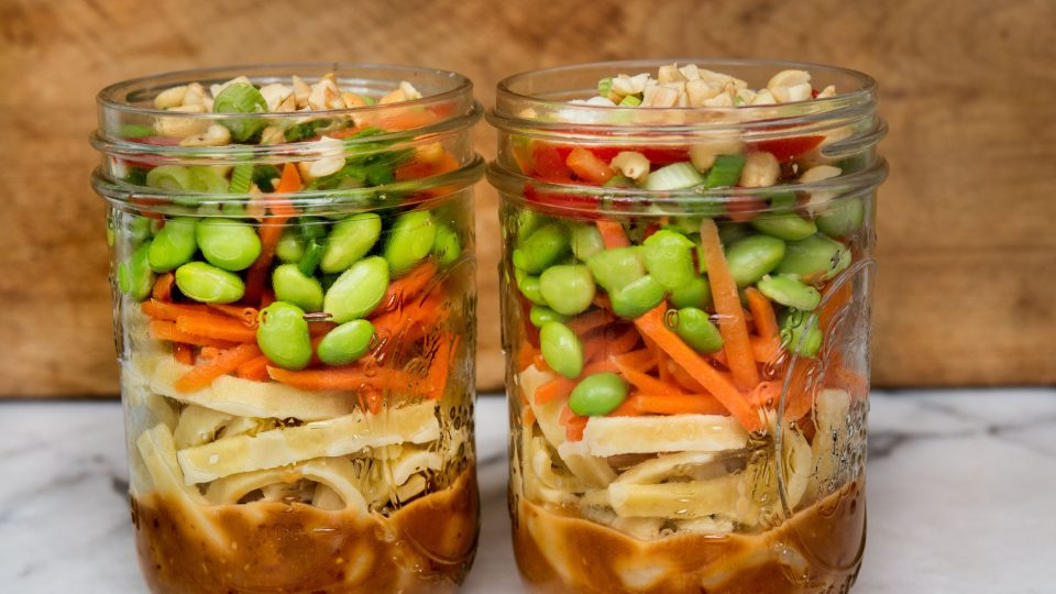 main asian noodle salad in mason jars 1 960x540
